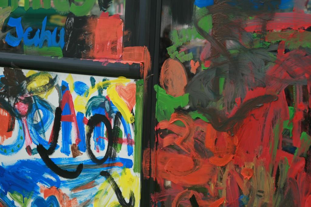 art on bus