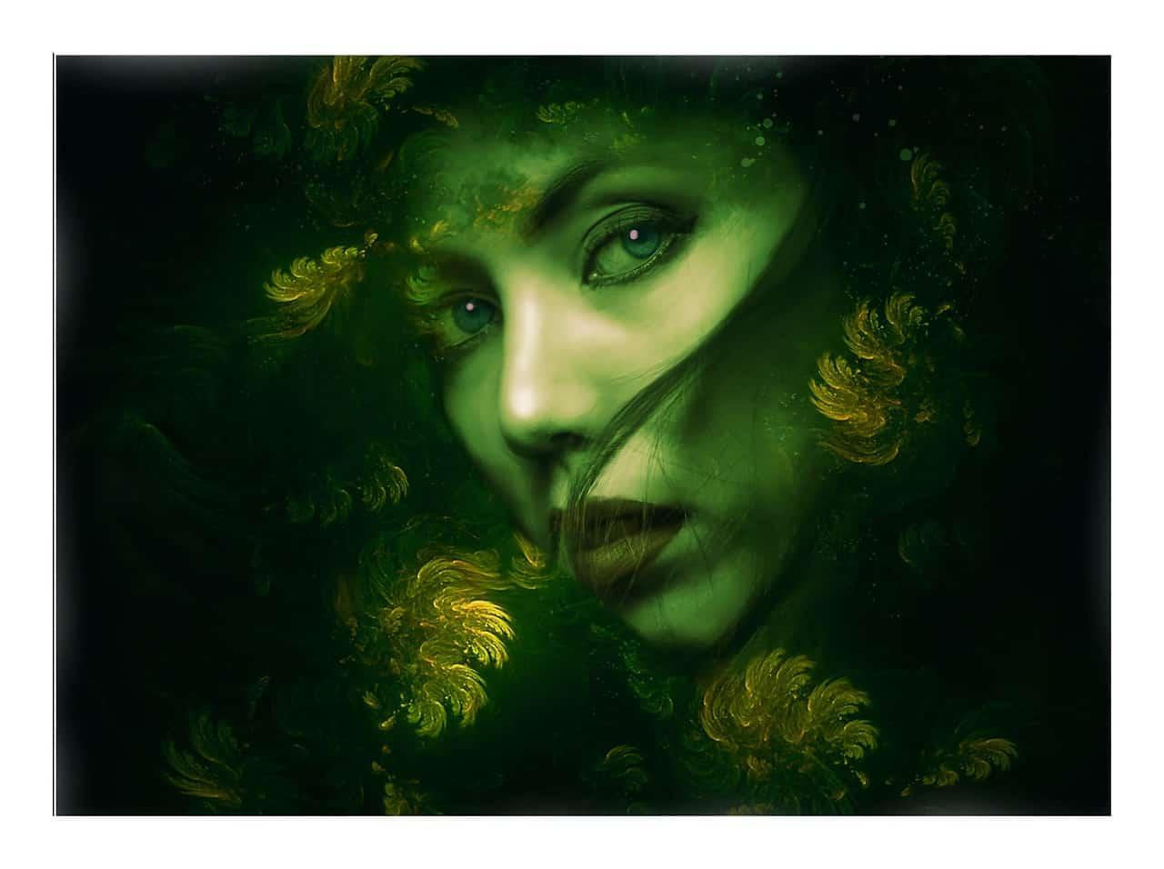 Grüne Göttin